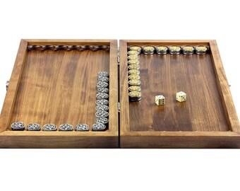 "Silver Backgammon ""Jewish"""