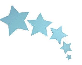 Star Die Cut Paper Embellishments