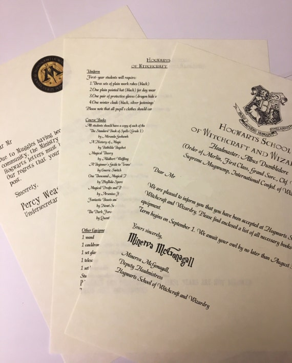 hogwarts acceptance letter hogwarts acceptance letter personalised 22127 | il 570xN.1120868795 e9ww