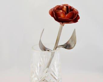 Handmade Eternal Copper Metal Rose