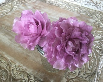 """Edible Peonies, Wafer Paper Flowers for Cakes - """"Bomb Style"""""""
