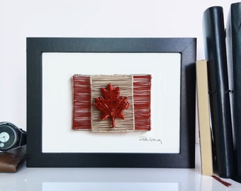 Canada Flag Wire Art