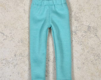 Leggings 14.5 inch doll clothes Mint