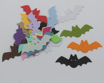 Halloween bat: batch of cut die - cut