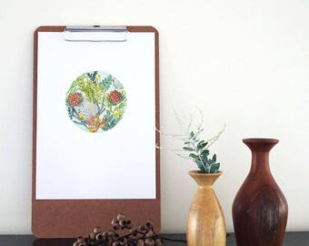 Art Print - Native Circle