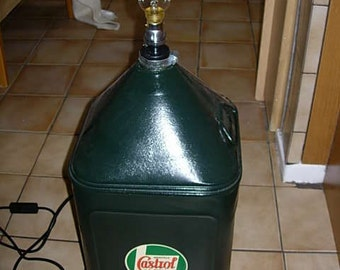 amazing castrol oil can light