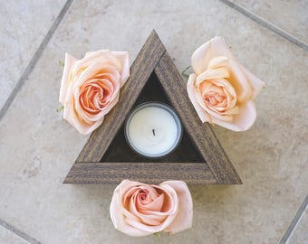 Triangle Candle