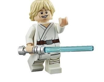 Luke Skywalker Episode IV STAR WARS Custom Minifigure 100% Lego Compatible!