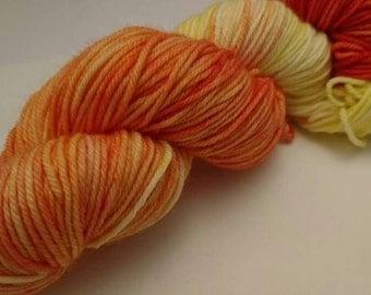 Fire Spectrum Double Knitting Sock Yarn 100g