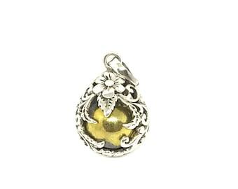 925 Bali Silver Harmony ball pendant