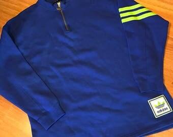 Vintage adidas 1/4 zip sweatshirt size xl