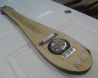 Electric, Lap Steel Guitar, with volume and tone controls