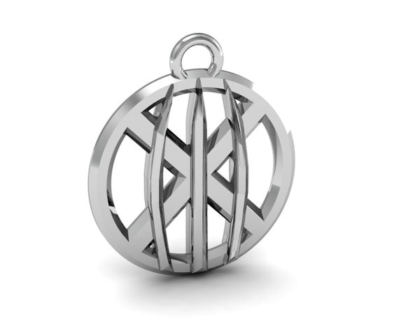 X-Men Wolverine Claws Sterling Silver Pendant