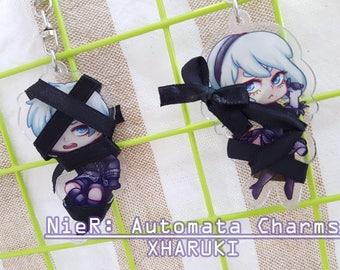 Nier: Automata 2B/9S Ribbon Charms