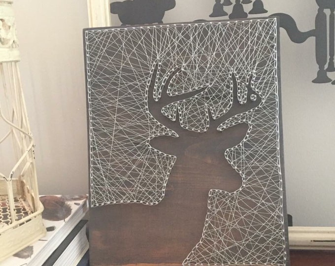 Deer wire art