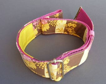 Belt made of fabric, fabric belts, belt to the move, fashion accessory / handmade