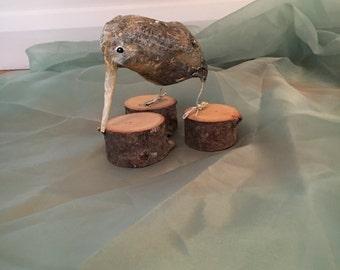 Paper mache animal / bird Kiwi sculpture