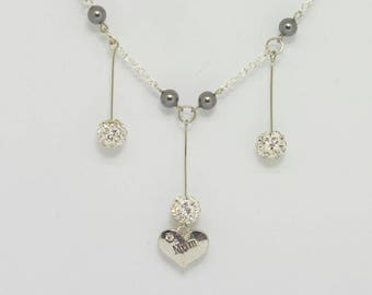 Mum Chain Link Necklace
