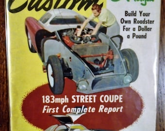 ROD & CUSTOM MAGAZINE May 1955 Issue...Little Pages Format