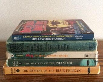 Nancy Drew, Meg, and Robin Kane Books