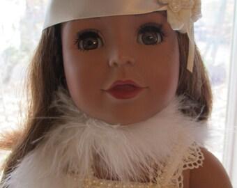 "1920's Flapper Costume 18"" Doll Dress"