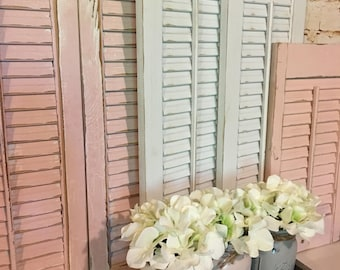 Wooden Shutters,  Vintage Shutters, Farmhouse Shutters, Farmhouse Decor,  Fixer upper decor