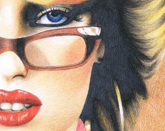 80's Glamour - Signed 8x10 Art Print