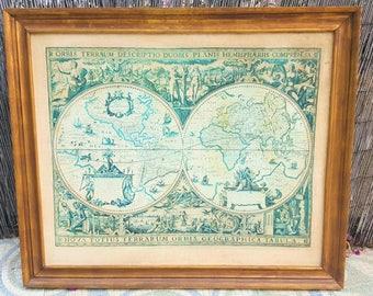 Mapa mundi / Antique world map