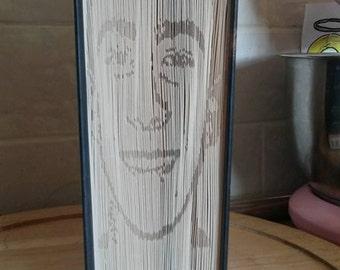 Custom  Book Folding pattern