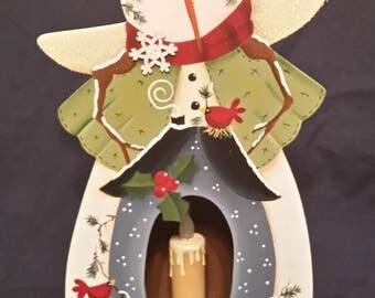 Snowman Candle Box
