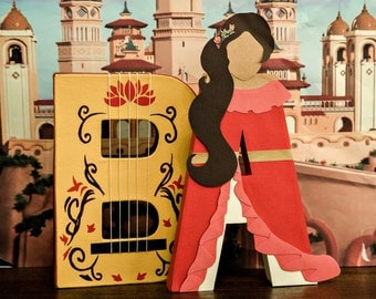 Elena of Avalor Paper Mache Letters - ONE LETTER