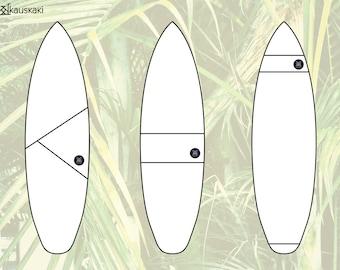 Custom Surfsock Builder: 100% Personalized Surfboard Sock Design