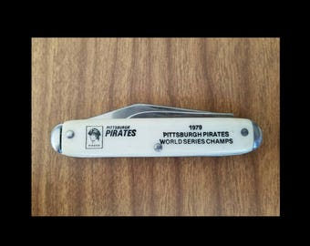 1979 Pittsburgh Pirates pocket knife