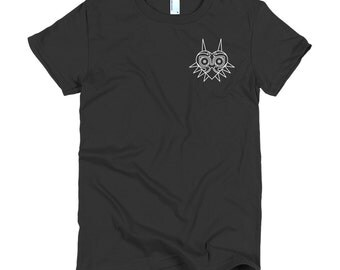 Women's Majora's Mask Legend of Zelda Minimalist Icon T-Shirt