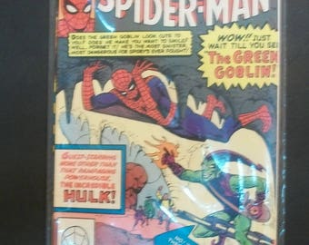 1983 Marvel Tales Starring Spider-Man #152  The Incredible Hulk, The Enforcers  VG -VF Vintage Marvel Comic Book  ASM 14 Reprint