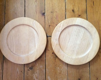 Wooden Plates/Serving Plates/Placemats