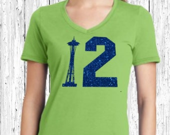 Seahawks 12 Ladies Shirt