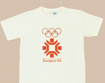 Olympic Game Poster Classic T Shirt S.M.L.XL