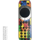 Lego Blocks Multicolour Sky Q TOUCH Remote Control Vinyl Sticker Skin Kit SKYQ