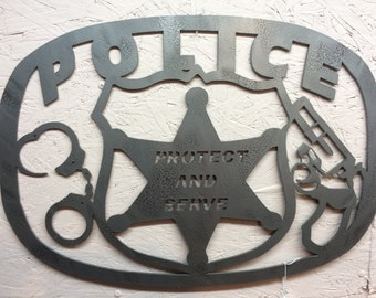 Police protect and serve