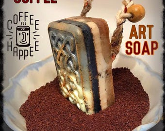 COFFEE SOAP,coffee gift,coffee lover,men's soap,starbucks,coffee,coffee cup,coffee art,coffee bean,cafe,espresso,coffee art,coffee mug,late