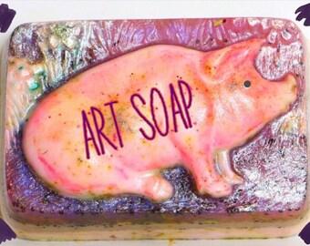 PIG SOAP,piglet art,pig gift,pig,funny pig gift,pigs,pigs gift,pig art,pig decor,pig gift idea,farmers gift,pig shirt,pig mug,farm animal