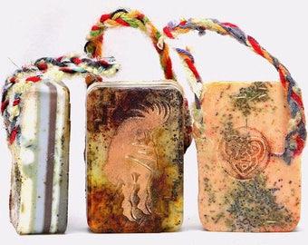 Kokopelli soap,indian art,kokopelli gift,desert,southwest decor,southwest art,southwest indian art,kokopelli southwest,southwest gift