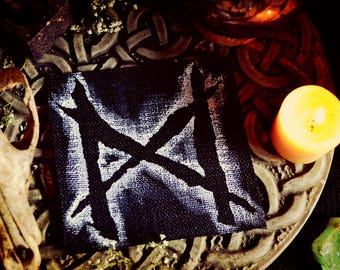 Dagaz Elder Futhark Rune Patch