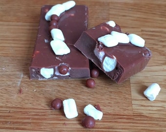 Handmade Rocky Road Chocolate Bars