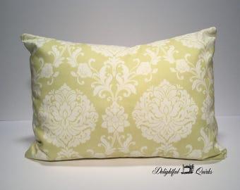 Light Green Pillow Cover, Decorative Pillows, 12x16 Pillow Cover, Throw Pillows, Envelope Pillow Cover, Envelope Pillow, Green Pillow Cover