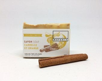 Cinnamon orange soap bar