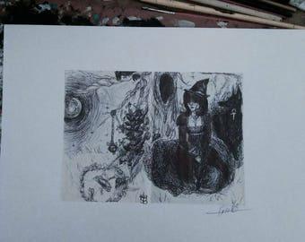Anubis fine art print