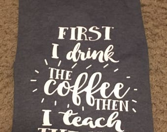 Teacher and Coffee