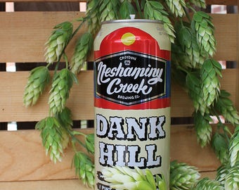 Neshaminy Creek Dank Hill Upcycled Beer Can Candle. 100% Soy Wax. 16 oz. Craft Beer Gifts Groomsmen Gifts Housewarming Gifts Birthday Gift